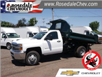 2018 Silverado 3500 Regular Cab DRW 4x4,  Knapheide Drop Side Dump Body #185533 - photo 1