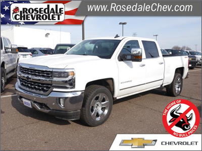 2018 Silverado 1500 Crew Cab 4x4, Pickup #185981 - photo 1