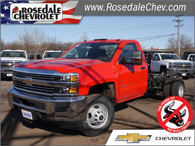 2018 Silverado 3500 Regular Cab DRW 4x4,  Cab Chassis #186043 - photo 1