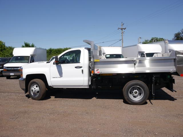 2018 Silverado 3500 Regular Cab DRW 4x4,  Monroe MTE-Zee SST Series Dump Body #186268 - photo 4