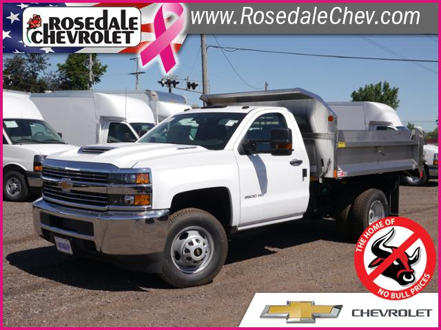 2018 Silverado 3500 Regular Cab DRW 4x4,  Monroe MTE-Zee SST Series Dump Body #186268 - photo 1