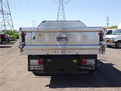 2018 Silverado 3500 Regular Cab DRW 4x4,  Monroe MTE-Zee SST Series Dump Body #186268 - photo 3