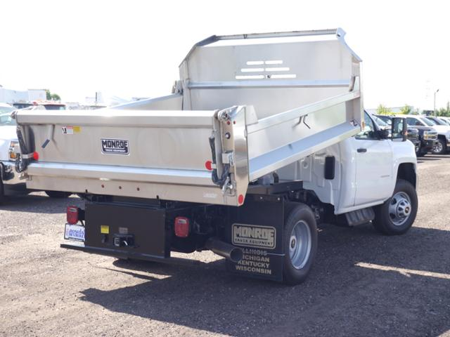 2018 Silverado 3500 Regular Cab DRW 4x4,  Monroe MTE-Zee SST Series Dump Body #186414 - photo 4