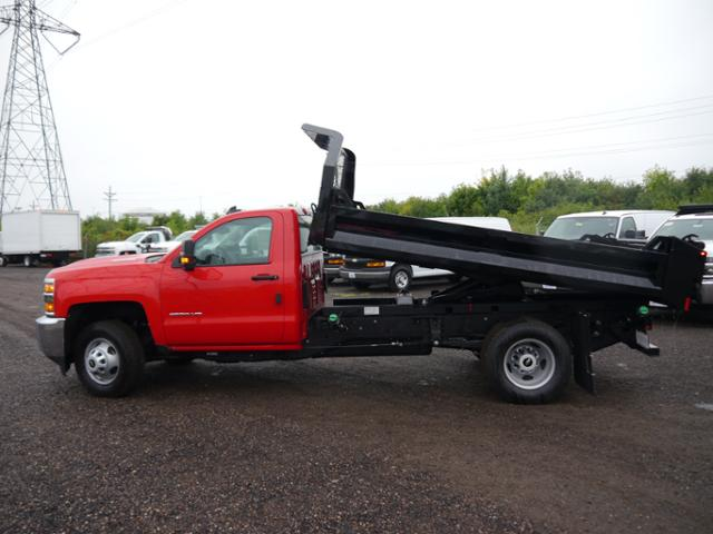 2018 Silverado 3500 Regular Cab DRW 4x4,  Knapheide Rigid Side Dump Body #186469 - photo 3
