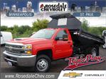 2018 Silverado 3500 Regular Cab DRW 4x4,  Knapheide Rigid Side Dump Body #186469 - photo 1
