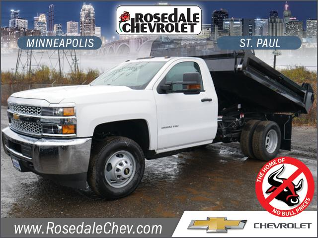 2019 Silverado 3500 Regular Cab DRW 4x4,  Knapheide Rigid Side Dump Body #195198 - photo 1