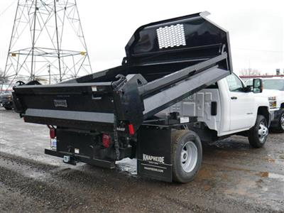 2019 Silverado 3500 Regular Cab DRW 4x4,  Knapheide Rigid Side Dump Body #195198 - photo 2