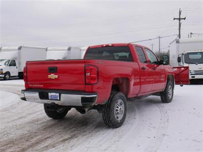 2019 Silverado 2500 Double Cab 4x4,  BOSS Snowplow Pickup #195496 - photo 2
