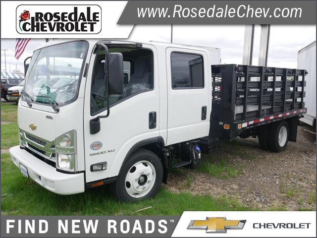 2019 Chevrolet LCF 5500XD Crew Cab DRW 4x2, Knapheide Stake Bed #196142 - photo 1