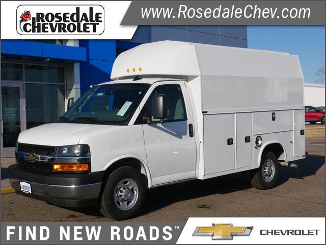 2020 Chevrolet Express 3500 4x2, Knapheide Service Utility Van #206397 - photo 1