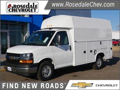 2020 Chevrolet Express 3500 4x2, Knapheide KUV Service Utility Van #206397 - photo 1