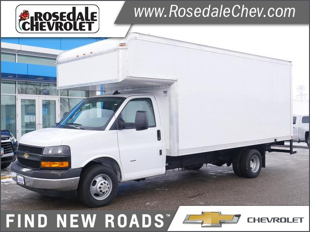 2020 Chevrolet Express 3500 DRW 4x2, American Cargo by Midway Cutaway Van #206411 - photo 1