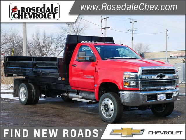 2020 Chevrolet Silverado 6500 Regular Cab DRW 4x4, Knapheide Dump Body #206422 - photo 1