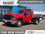 2021 Silverado 3500 Regular Cab 4x4,  Monroe Truck Equipment MTE-Zee SST Series Dump Body #215813 - photo 1