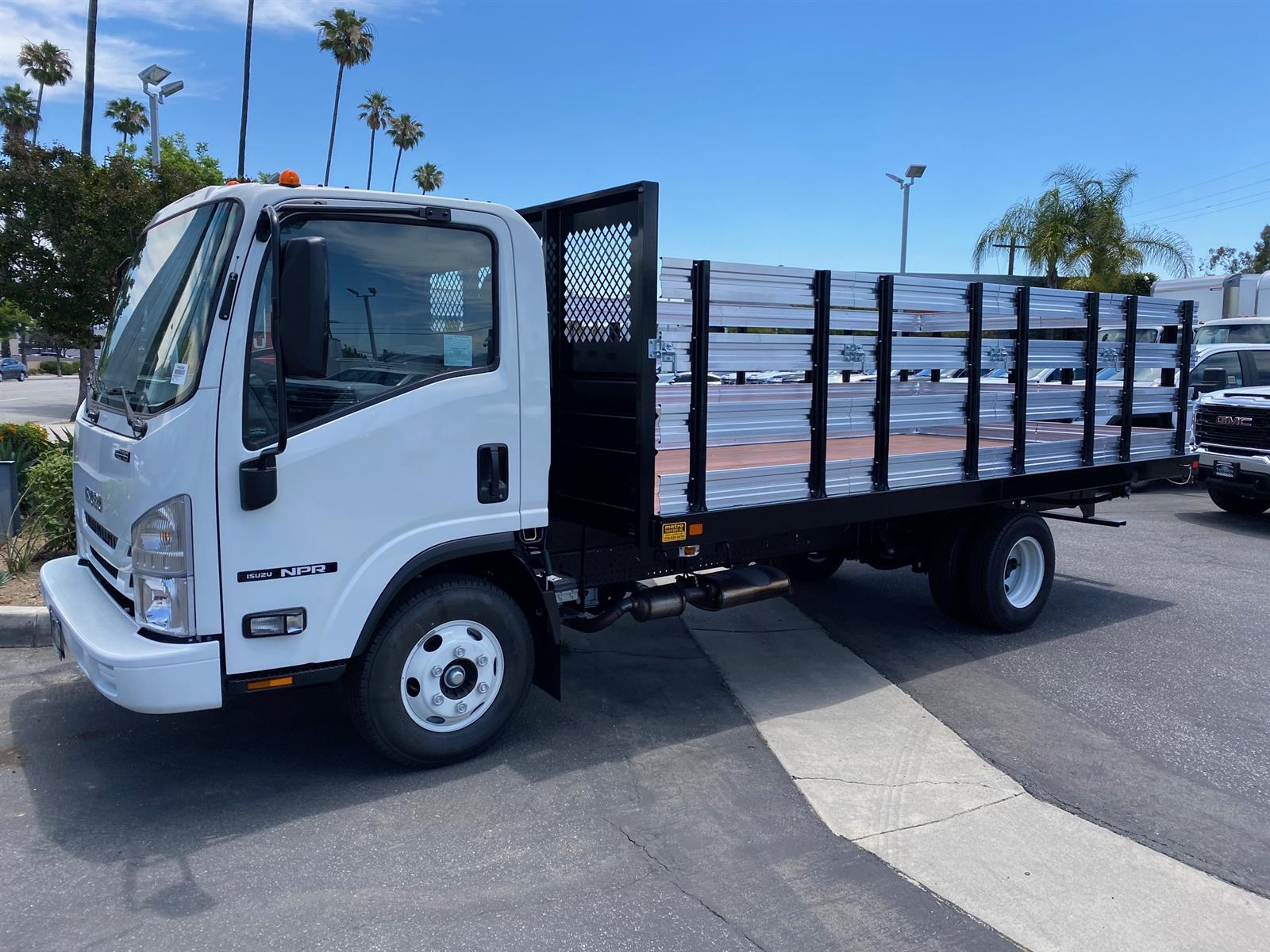 2019 Isuzu NPR Regular Cab 4x2, 16' Stake Bed #T49228 - photo 1