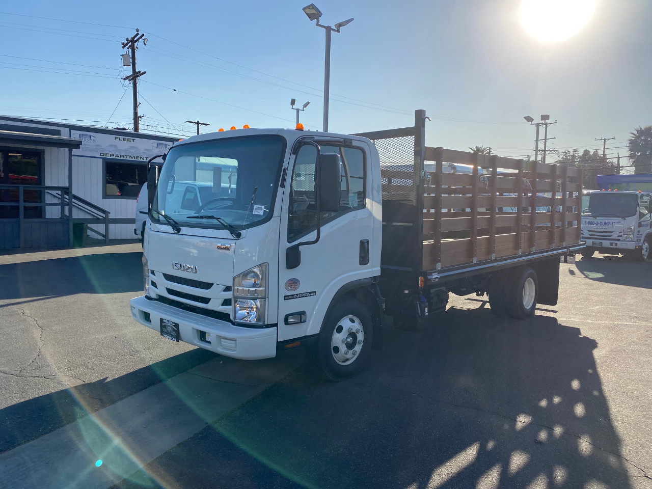 2020 Isuzu NPR-HD Regular Cab 4x2, Martin Stake Bed #T49252 - photo 1
