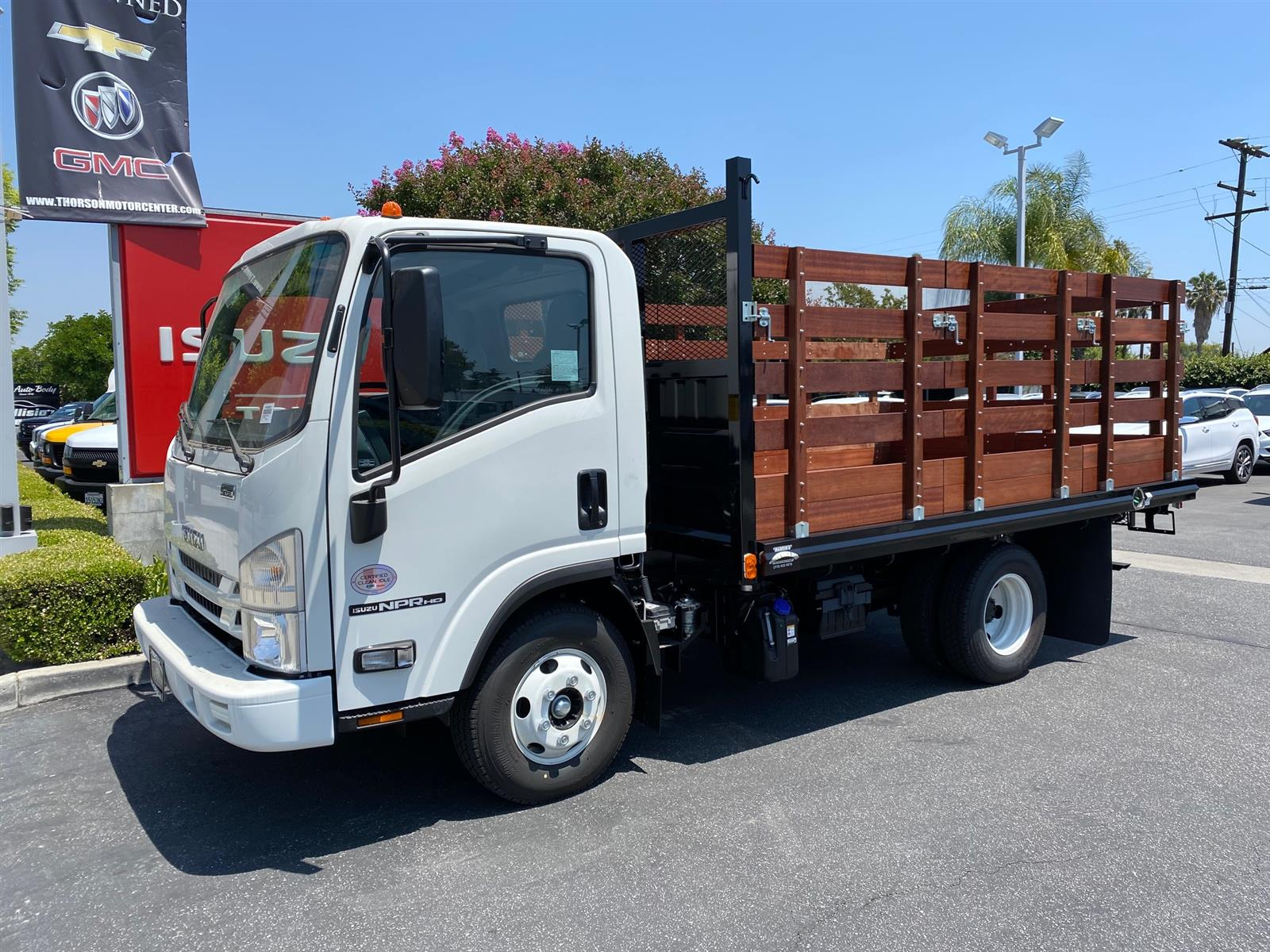 2020 Isuzu NPR-HD Regular Cab 4x2, 12' Stake Bed #T49297 - photo 1