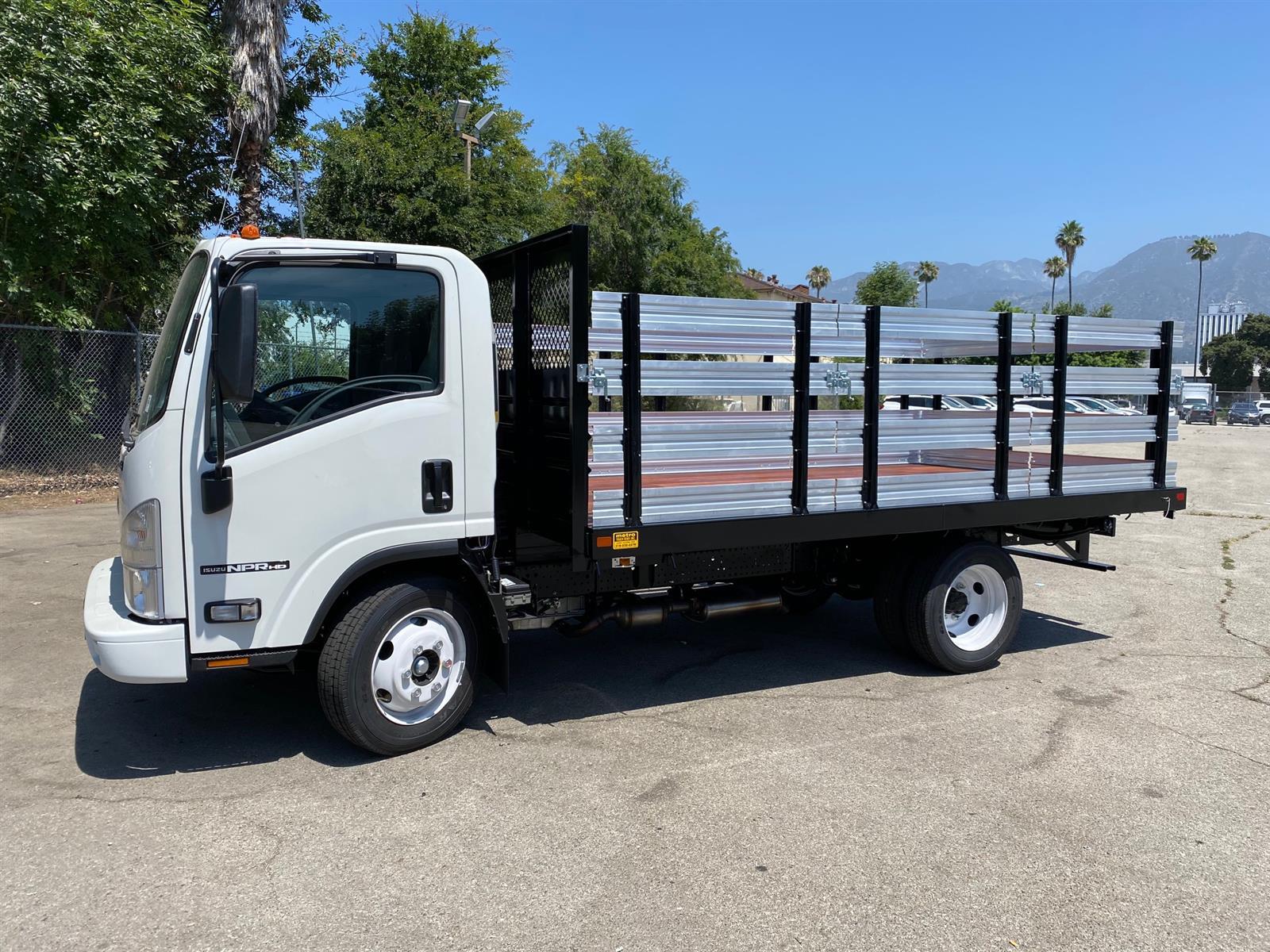 2020 Isuzu NPR-HD Regular Cab 4x2, 14' Stake Bed #T49599 - photo 1