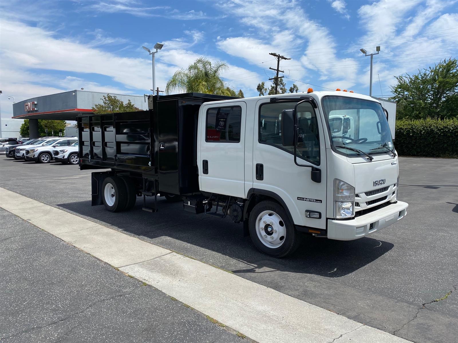 2019 Isuzu NPR-HD Crew Cab 4x2, 11' Landscape Dump Body #T49648 - photo 1