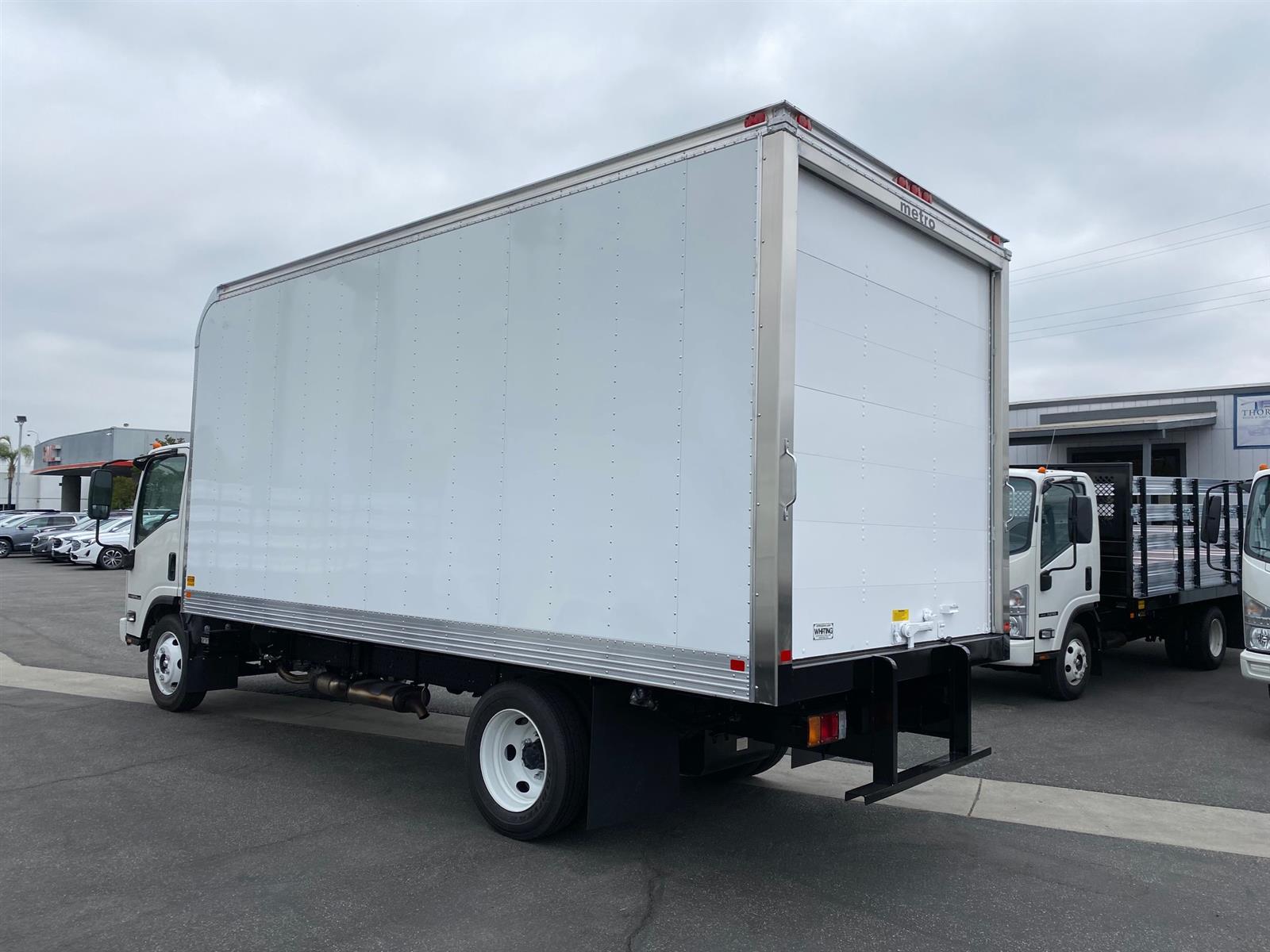 2020 Isuzu NPR-HD Regular Cab 4x2, 18' Aluminum Van Body #T49791 - photo 1