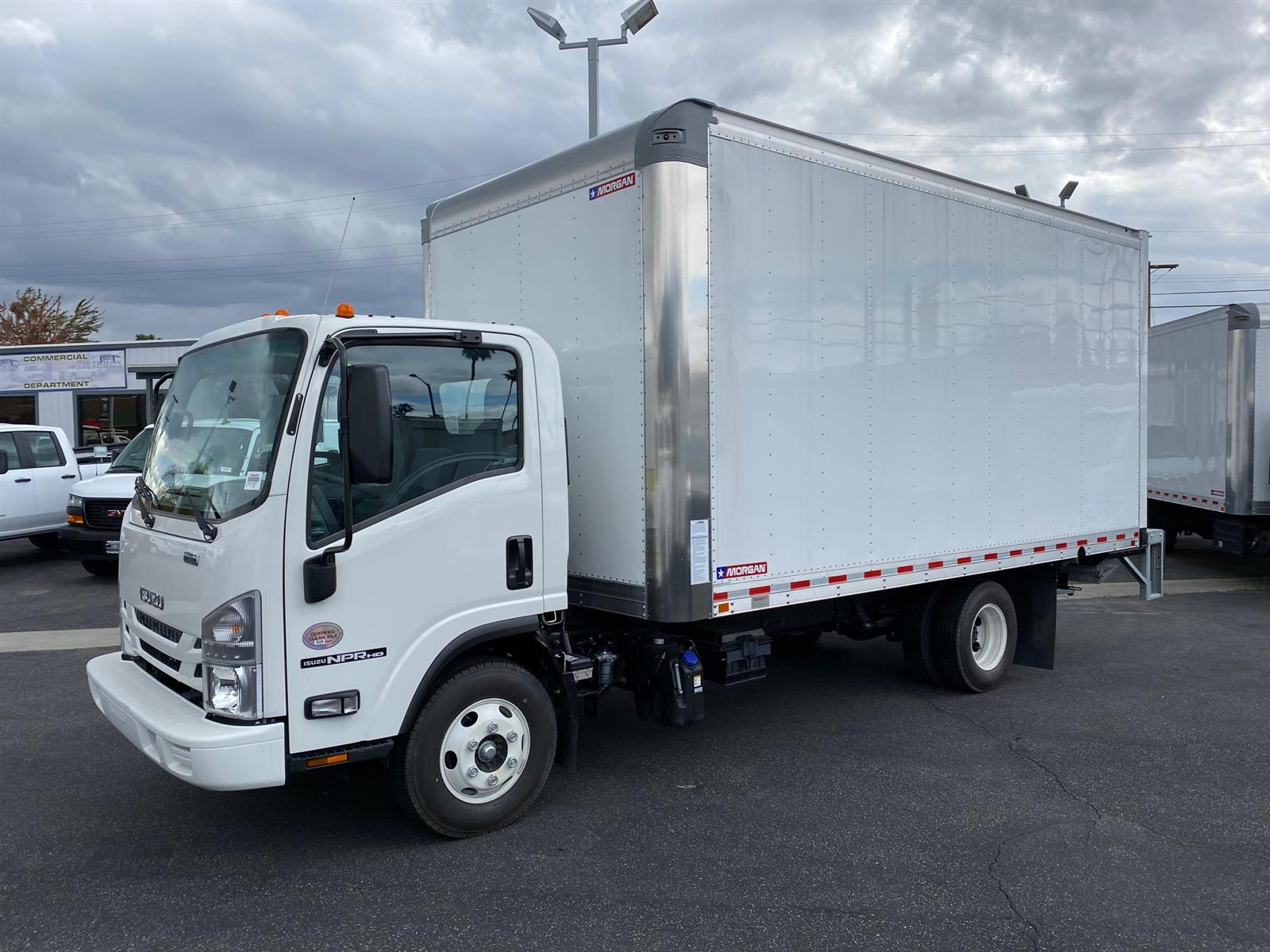 2020 Isuzu NPR-HD Regular Cab 4x2, 16' Box and Lift Gate #T49880 - photo 1