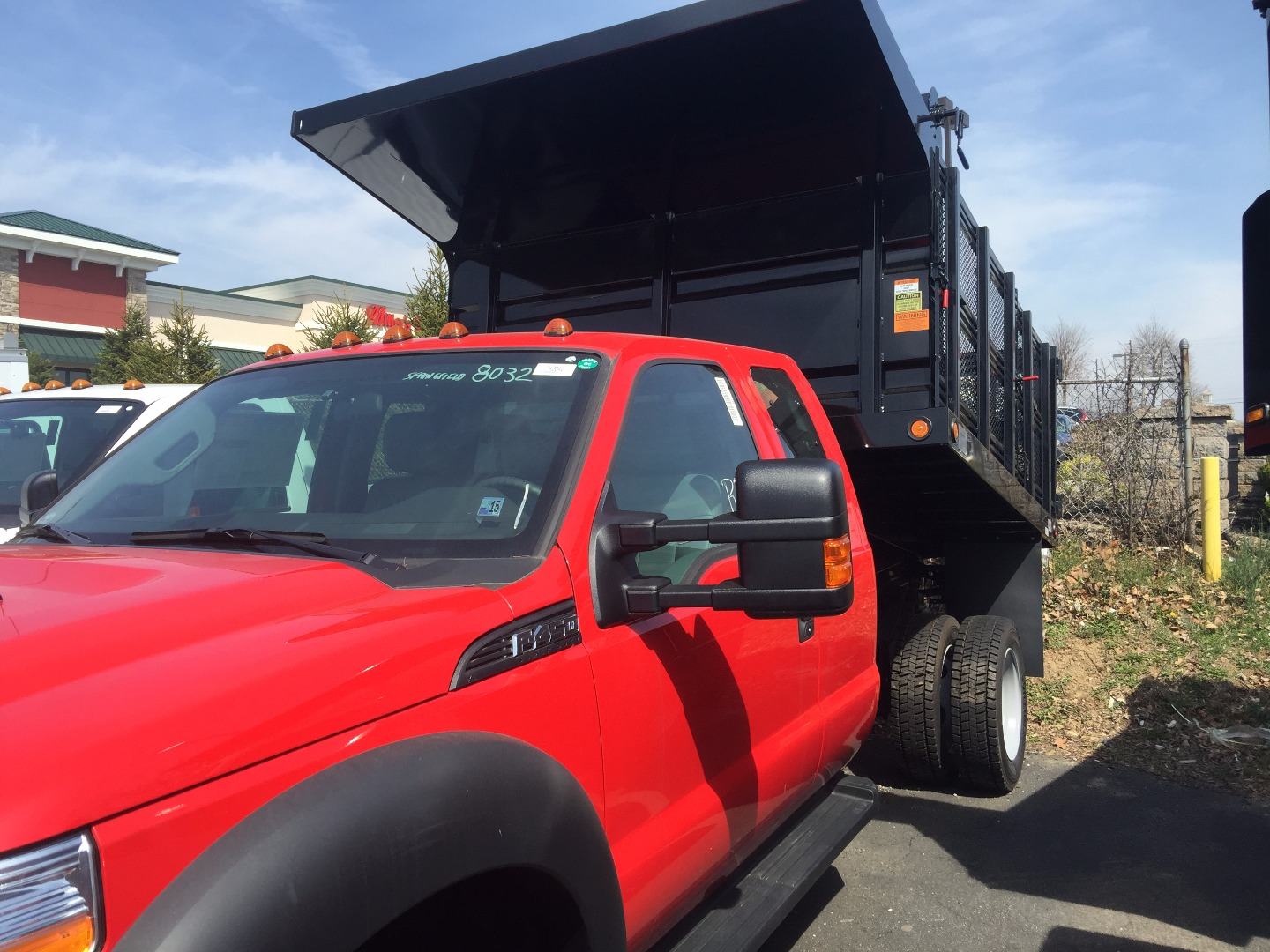 2016 F-450 Super Cab DRW, Rugby Landscape Dump #7R0040 - photo 3