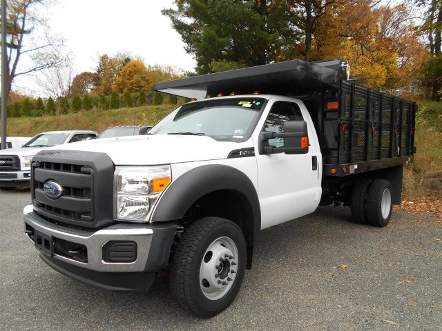 2016 F-450 Regular Cab DRW 4x4, Rugby Landscape Dump #7R0407 - photo 4