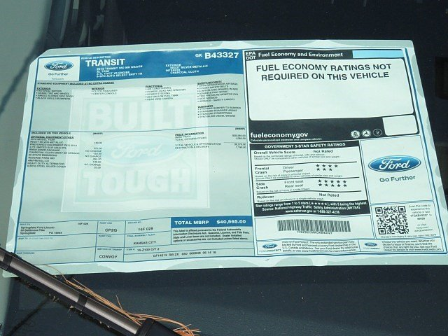 2016 Transit 350 Medium Roof, Passenger Wagon #7R1397 - photo 6