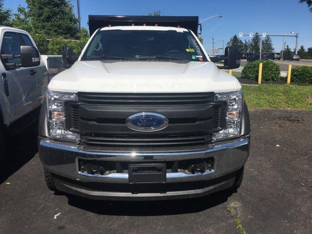 2018 F-550 Regular Cab DRW 4x4,  Rugby Dump Body #7T0683 - photo 3