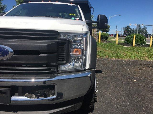 2018 F-550 Regular Cab DRW 4x4,  Rugby Dump Body #7T0683 - photo 4