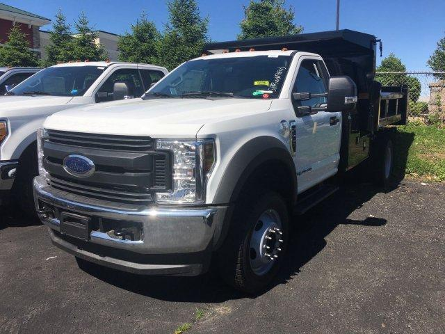 2018 F-550 Regular Cab DRW 4x4,  Rugby Dump Body #7T0683 - photo 5