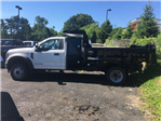 2018 F-550 Regular Cab DRW 4x4,  Rugby Dump Body #7T0683 - photo 1