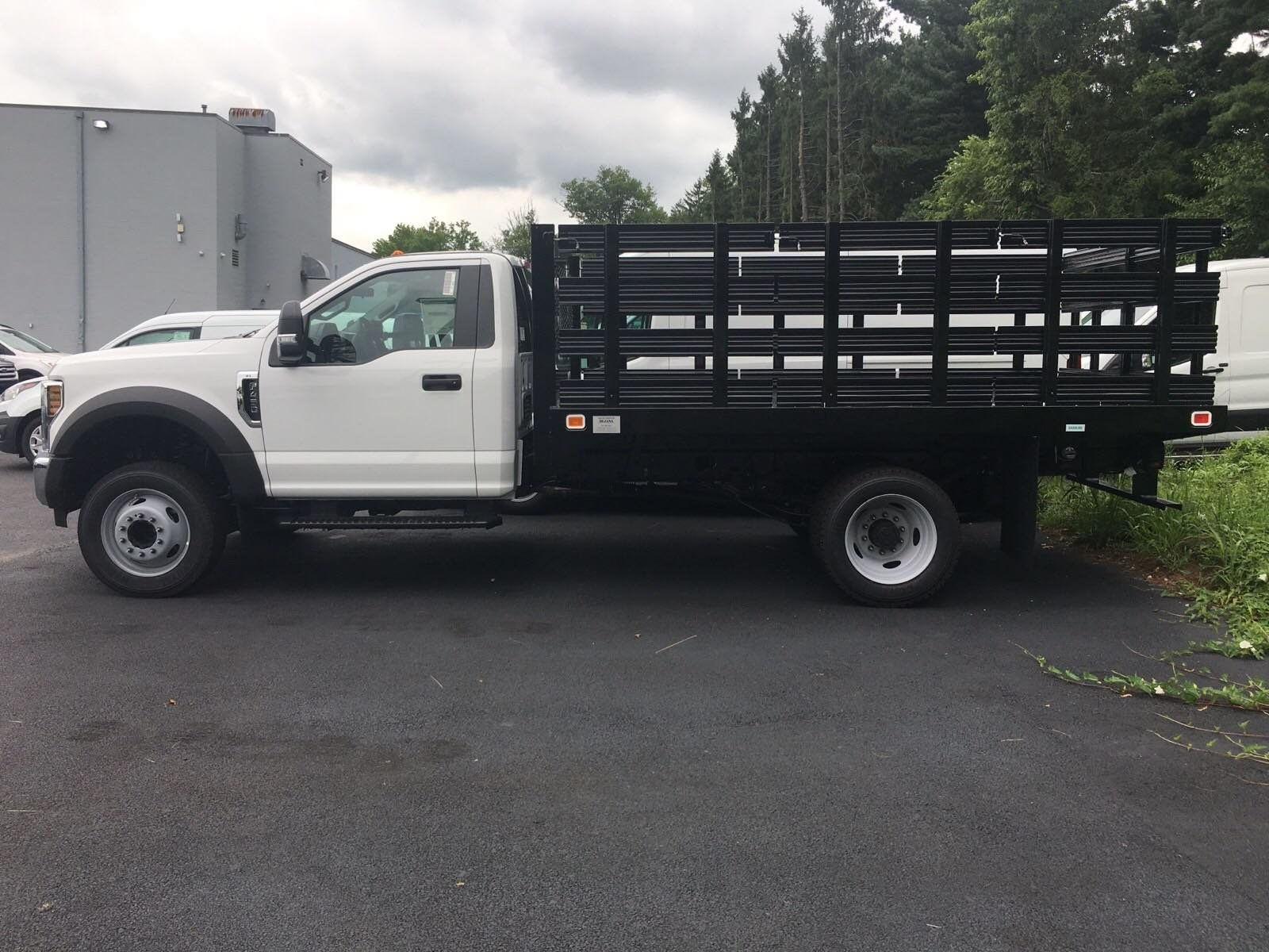 2018 F-450 Regular Cab DRW 4x2,  Knapheide Stake Bed #7T0760 - photo 6