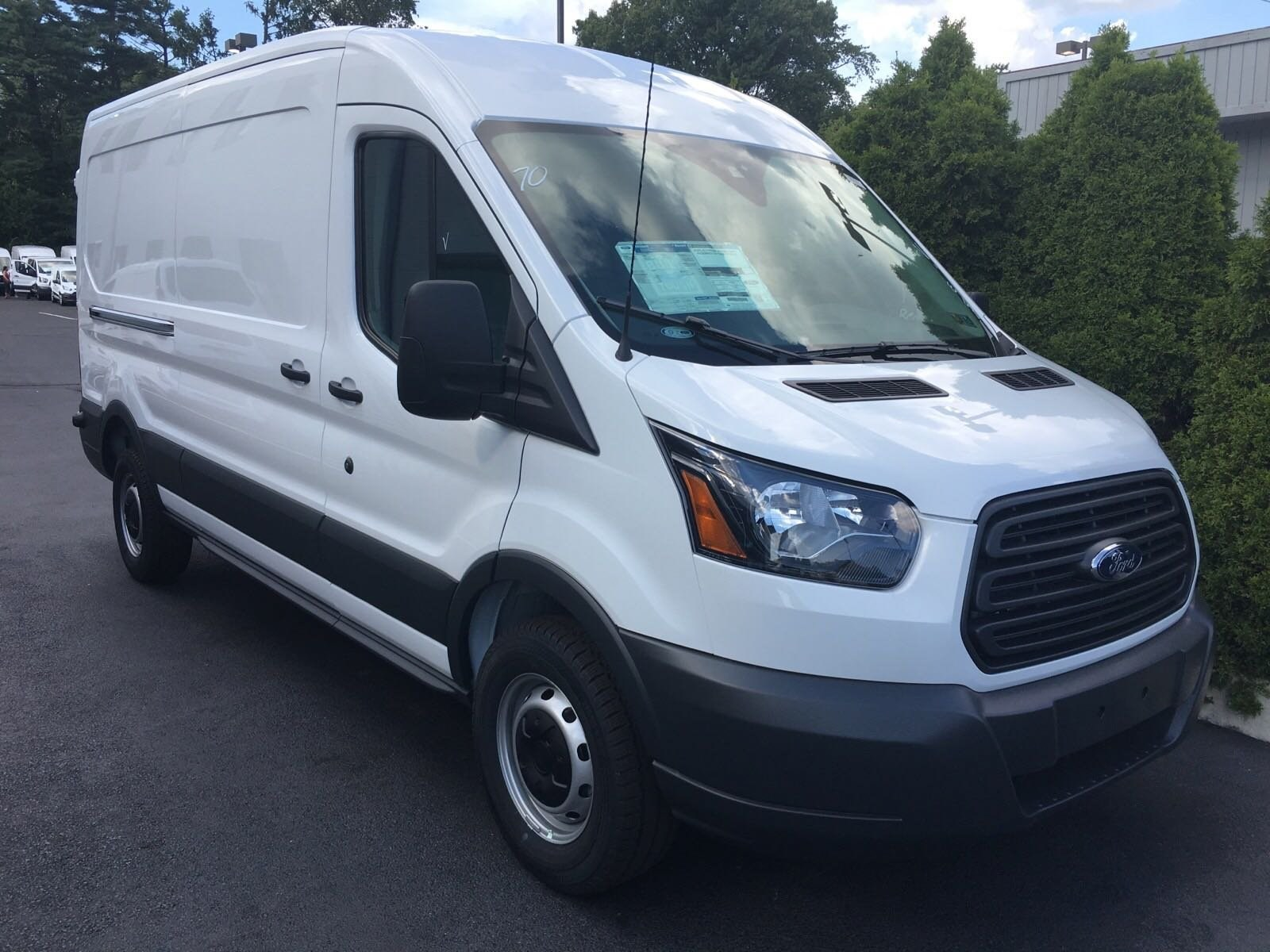 2018 Transit 250 Med Roof 4x2,  Empty Cargo Van #B34207 - photo 3