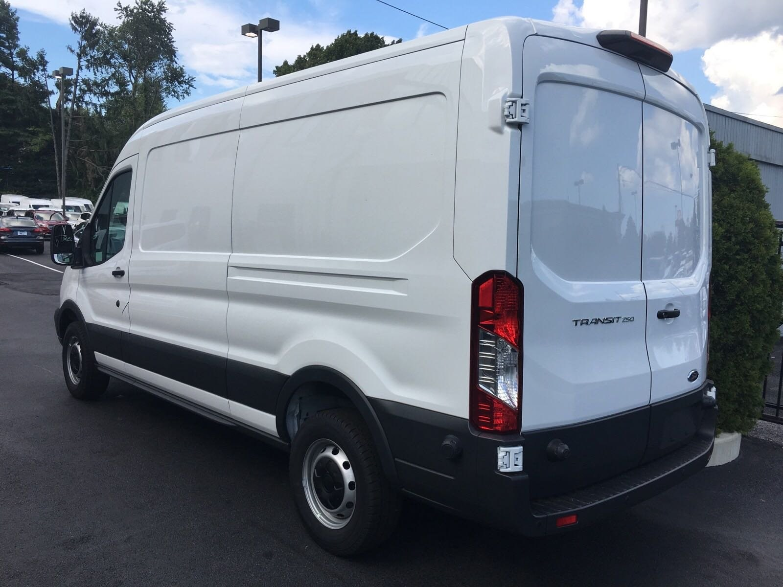 2018 Transit 250 Med Roof 4x2,  Empty Cargo Van #B34207 - photo 7