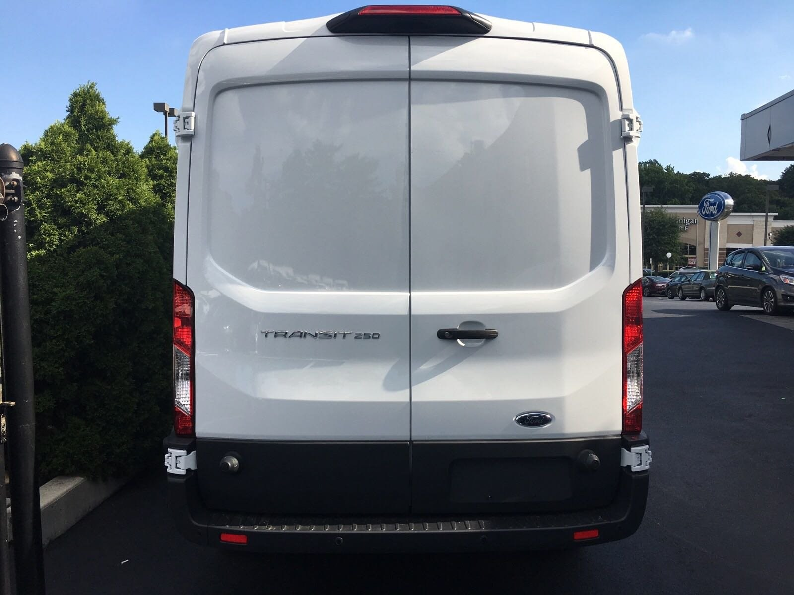 2018 Transit 250 Med Roof 4x2,  Empty Cargo Van #B34207 - photo 8