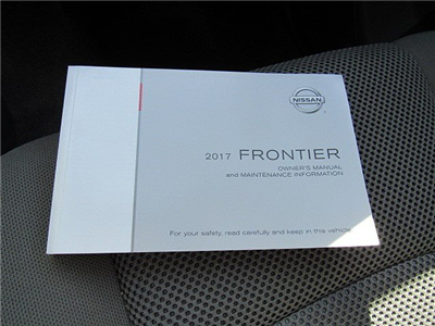 2017 Frontier Crew Cab Pickup #M0277 - photo 23