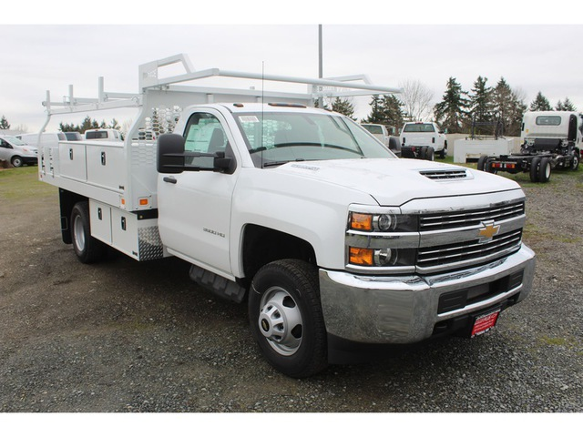 2018 Silverado 3500 Regular Cab DRW, Knapheide Contractor Body #F41479 - photo 6