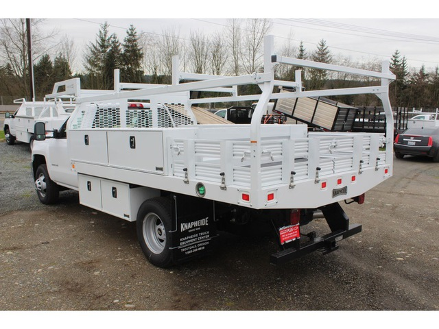 2018 Silverado 3500 Regular Cab DRW, Knapheide Contractor Body #F41479 - photo 2