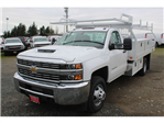 2018 Silverado 3500 Regular Cab DRW, Knapheide Contractor Body #F41479 - photo 1