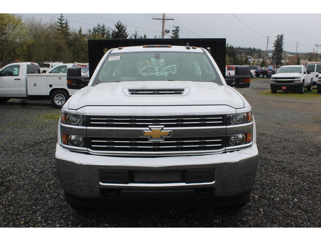 2018 Silverado 3500 Regular Cab DRW 4x4, Knapheide Platform Body #F41581 - photo 3