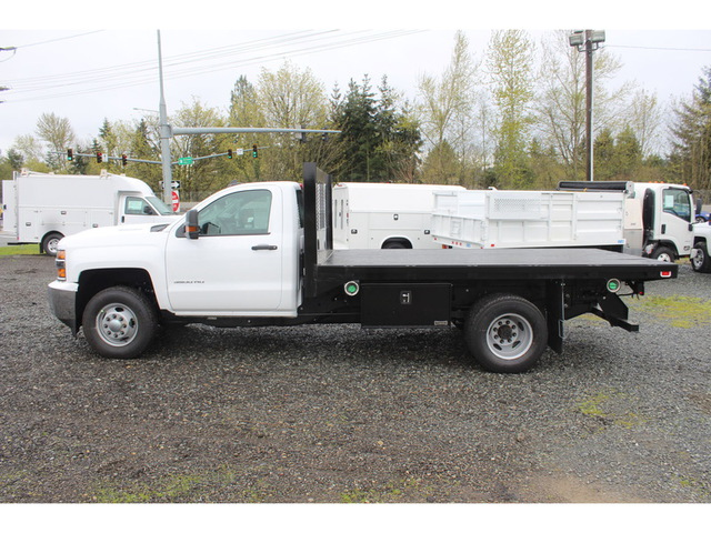 2018 Silverado 3500 Regular Cab DRW 4x4, Knapheide Platform Body #F41581 - photo 7