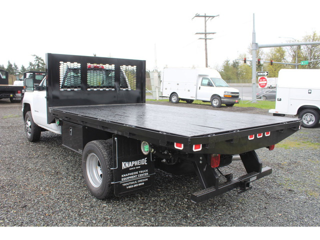 2018 Silverado 3500 Regular Cab DRW 4x4, Knapheide Platform Body #F41581 - photo 2