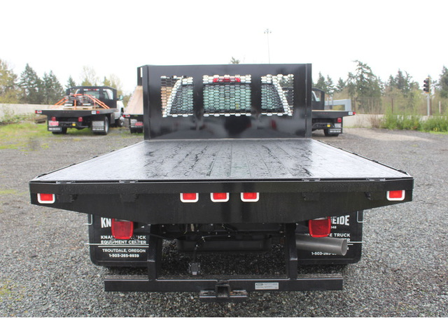 2018 Silverado 3500 Regular Cab DRW 4x4, Knapheide Platform Body #F41581 - photo 9