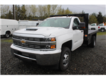 2018 Silverado 3500 Regular Cab DRW 4x4, Knapheide Platform Body #F41581 - photo 1