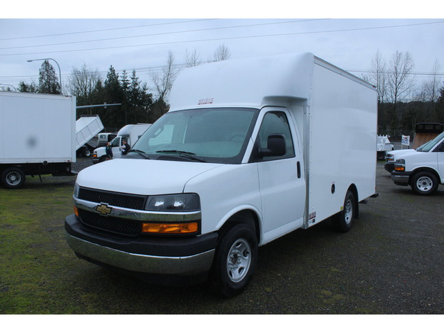 2019 Express 3500 4x2,  Supreme Spartan Cargo Cutaway Van #F42109 - photo 1