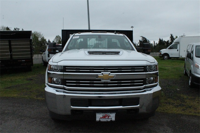2018 Silverado 3500 Regular Cab DRW 4x2,  Knapheide Heavy-Hauler Junior Platform Body #F42290 - photo 10