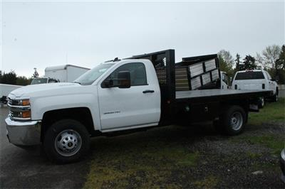 2018 Silverado 3500 Regular Cab DRW 4x2,  Knapheide Heavy-Hauler Junior Platform Body #F42290 - photo 3