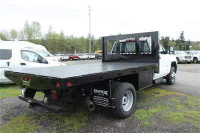 2018 Silverado 3500 Regular Cab DRW 4x2,  Knapheide Heavy-Hauler Junior Platform Body #F42290 - photo 8