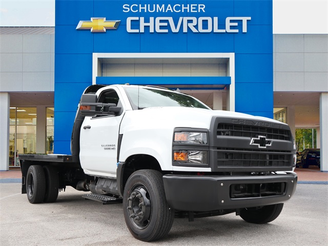 2019 Chevrolet Silverado 4500 Regular Cab DRW 4x2, Knapheide Platform Body #C921884 - photo 1